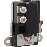 Electric water heater thermostat - Lower