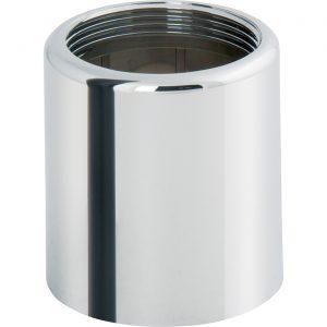 Concealed tub|shower flange sleeve