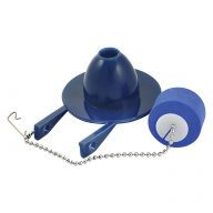 Water saver flapper with adjustable float