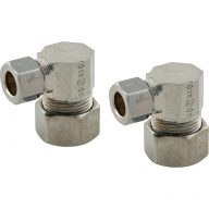 Compression fitting - Reducing union elbows