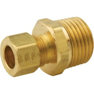Compression fitting - Male reducing adapter