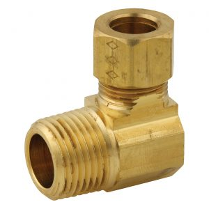 Compression fitting - Male elbow