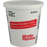 Mastic de plombier en acier inoxydable - Pot de 14 oz