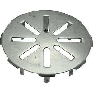 """Snap-in drain cover - 4"""""""