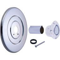Tub and shower faucet trim kit - Chrome